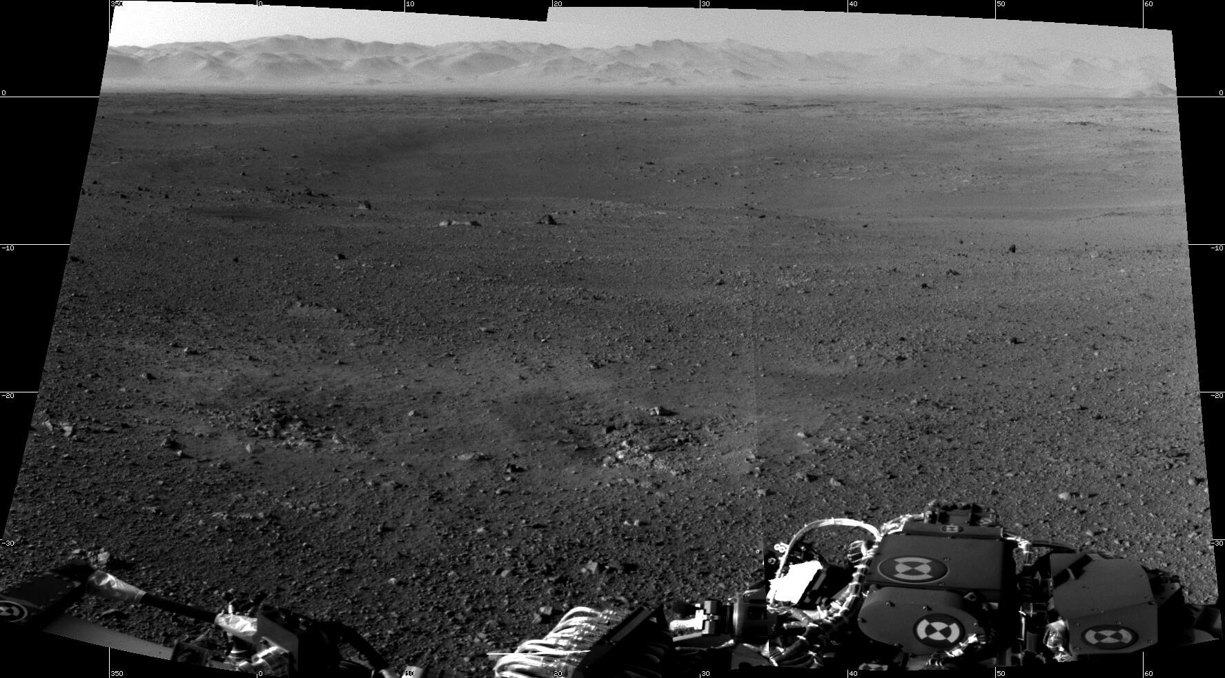 NASA好奇号火星火星表面