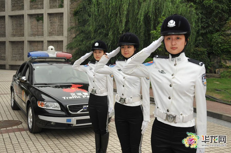 全国最漂亮女警