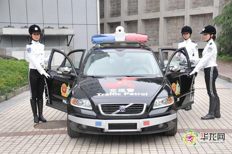 重庆最漂亮女警