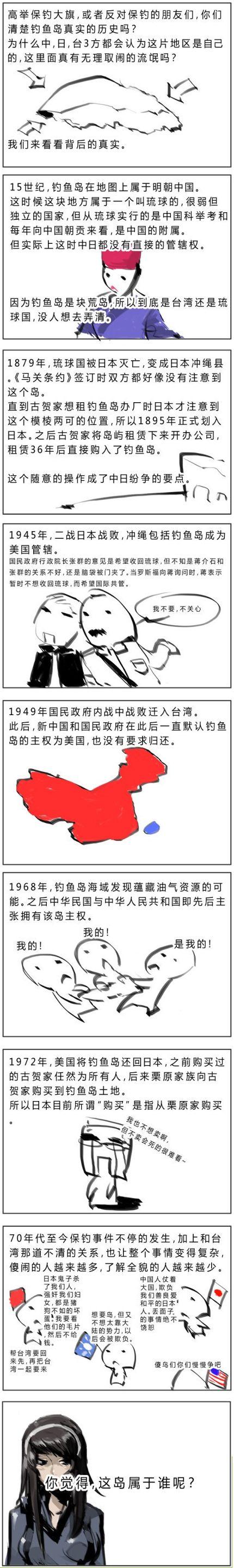 钓鱼岛的历史真相
