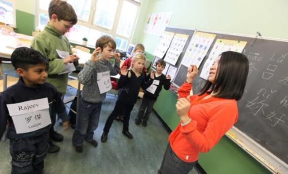我的导师劝比利时的中小学生用中文取代拉丁语学习