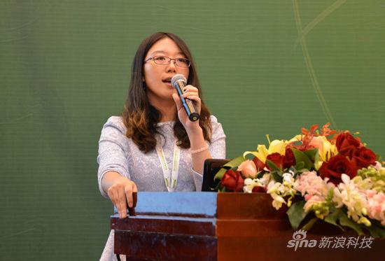 七牛公司市场部副总李婧女士