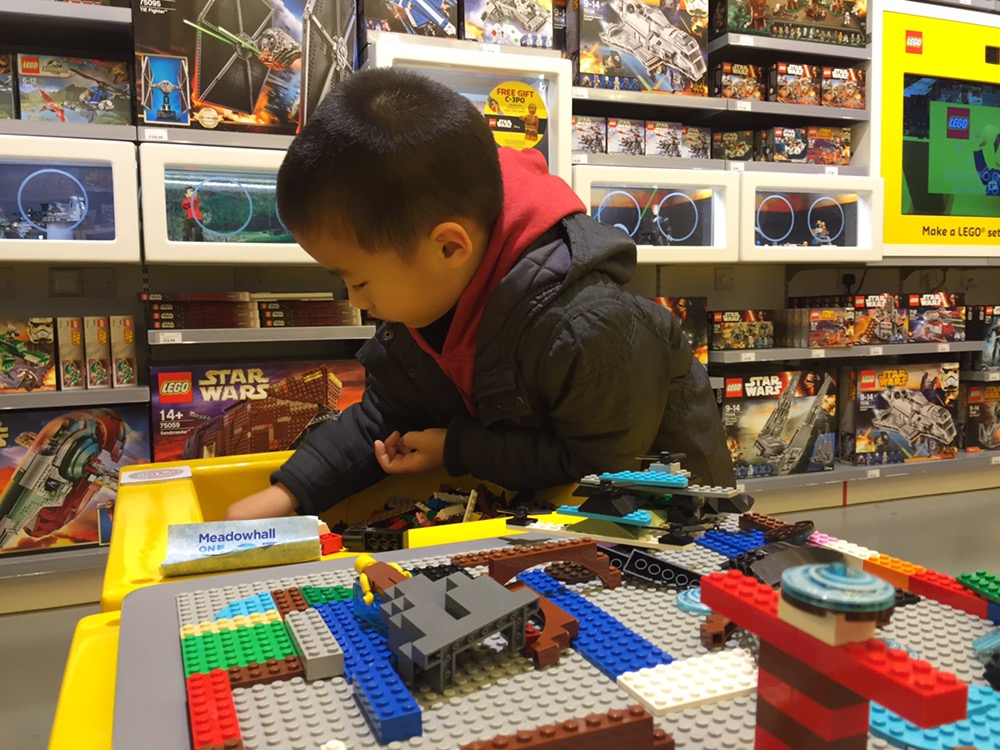 just for fun Lego Meadowhall Sheffield Boxing Day 2015