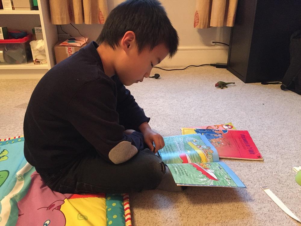 kids love reading